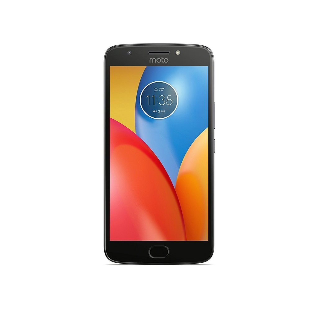 Moto E4 Plus, XT1773, 16GB, Factory Unlocked (International Version - Dark Gray)