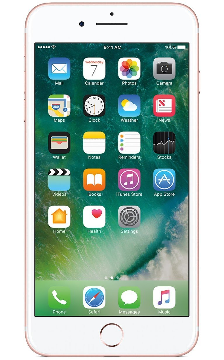 Apple iPhone 7 Plus 128 GB AT&T, Rose Gold
