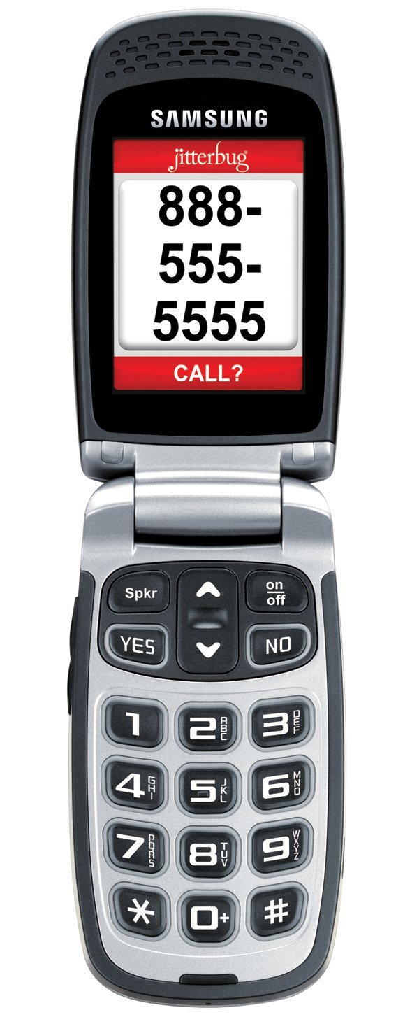 GreatCall Jitterbug Plus Senior Cell Phone With Touch Operator - Jitterbug coverage map