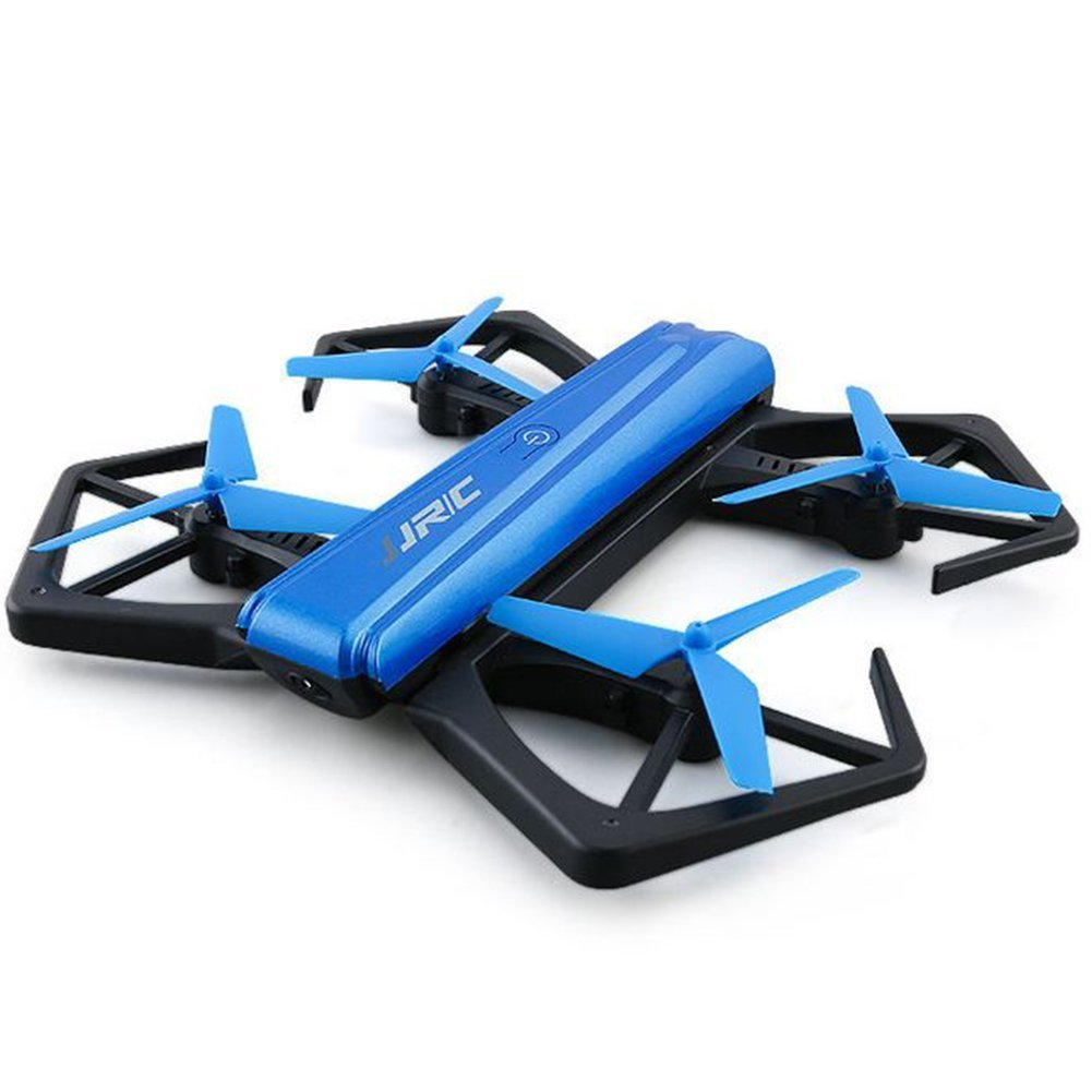JJRC H43WH Mini Quadcopter Drone, Headless Mode 2.4GHz 4 Chanel 6-Axis Gyro PNP RC Foldable Pocket Drone with Wifi Camera, Height Hold Easy Fly Steady