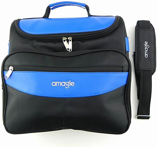 AMAGLE Carrying Case Travel Bag for PlayStation 4 PS4