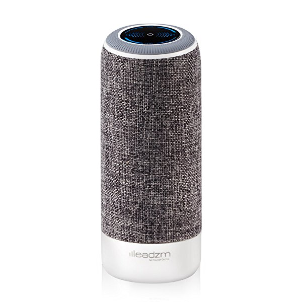 Leadzm Missile Air Bluetooth Speakers, Portable Bluetooth Hi-Fi Car Speaker with Replaceable Fabric Covering