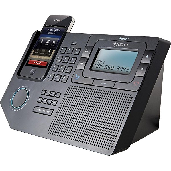 ION Phone Station Plus | Bluetooth Speakerphone Station for Smartphones
