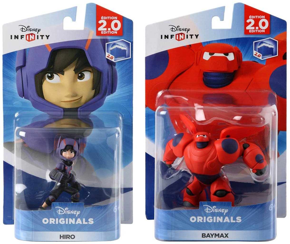 Disney INFINITY Originals - Hiro and Baymax Figures from Big Hero 6 Character Bundle