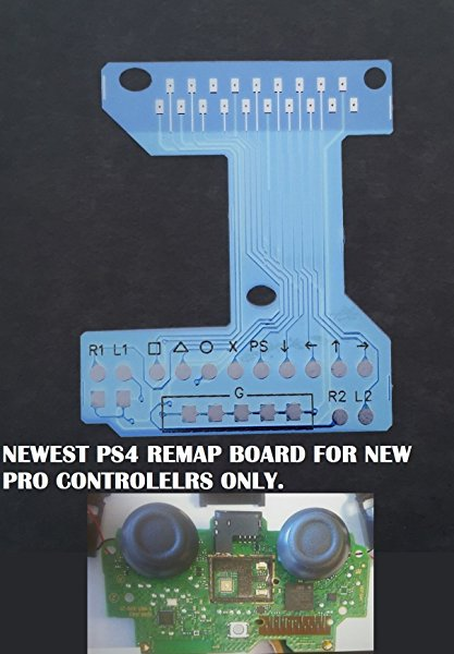 Playstation 4 Dualshock 4 Flex Board /Remap Chip, Easy Install - Remap buttons yourself. by PS4 DS4 Flex Board