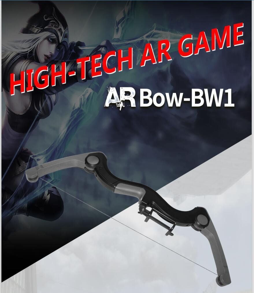 Caraok AR Game Arrow for Kids & Adults,Bluetooth Connect All Smart Phone For Virtual Reality Fun