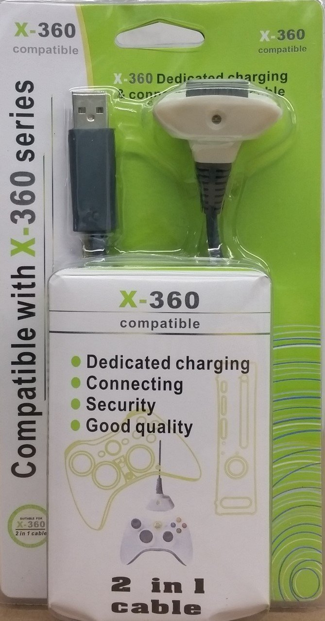 Charge Cable for Xbox Retail Packaging