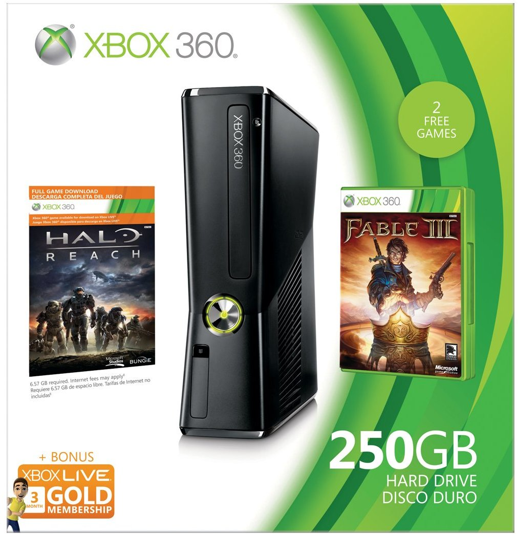 Xbox 360 250GB Holiday Value Bundle (OLD MODEL)