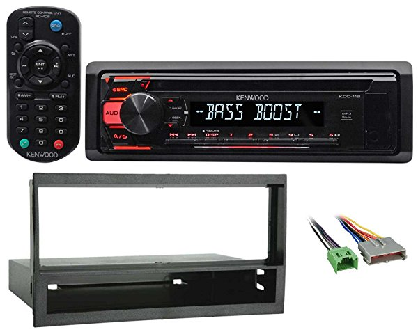 1997-1998 Ford F-150 Kenwood CD Player Receiver Aux/Mp3/3-Band Eq+Remote