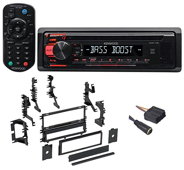 1994-98 Mitsubishi Galant CD Receiver w/Aux/Mp3/WMA, 3-Band Eq+Remote