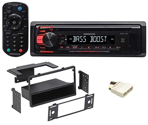 1997-1999 Acura CL Kenwood CD Receiver Stereo w/Aux/Mp3/WMA, 3-Band Eq+Remote