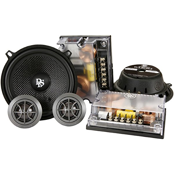 DLS RCS5.2 Reference 2-Way Component Car Speaker (pair), 180W