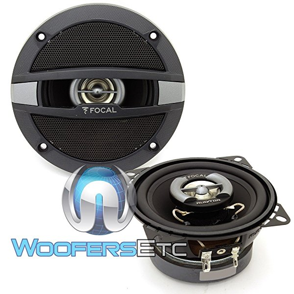 Focal Auditor R-100C 4' 60W RMS 2-Way Coaxial Speakers