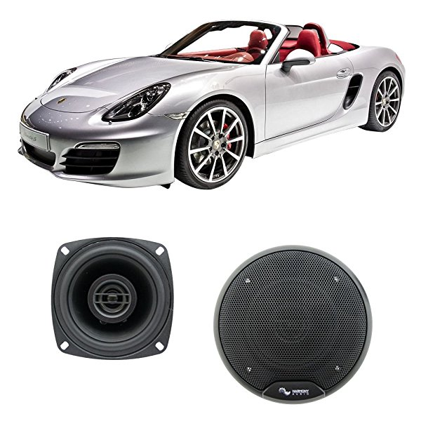 Fits Porsche Boxster 1997-2016 Front Dash Factory Replacement Harmony HA-R4 Speakers New