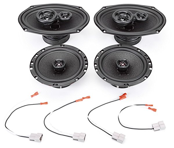 1997-2001 Toyota Camry Sedan Complete Premium Factory Replacement Speaker Package by Skar Audio