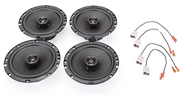 2004-2012 GMC Canyon Complete Premium Factory Replacement Speaker Package by Skar Audio