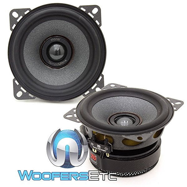 Morel TEMPO ULTRA INTEGRA 402 4' 2-Way Car Coaxial Speakers