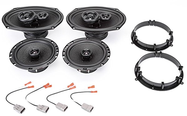 1998-2002 Honda Accord Complete Premium Factory Replacement Speaker Package by Skar Audio