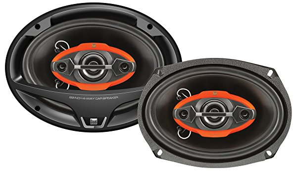 Dual Electronics DWS694 6' x 9' 4-Way 300 Watts Speakers - Pair