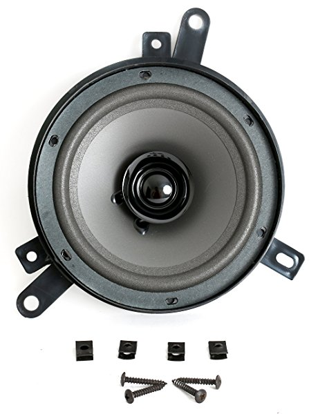 6.5 Inch Speaker for Front Door Location Fits 1995-05 Dodge Chrysler Jeep Truck