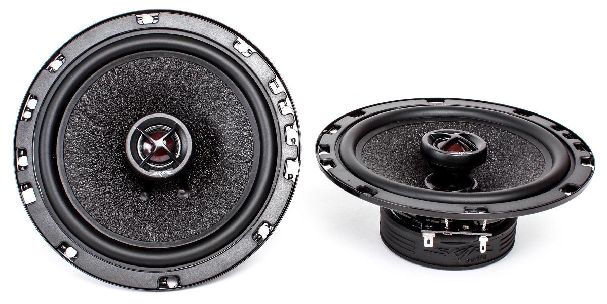 1997-1999 Volvo S90/V90 Front Door 6.5' 320 Watt Performance Replacement Upgrade Speakers by Skar Audio
