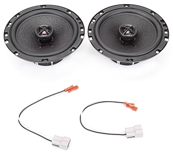 1993-1993 Honda Accord Front Door 6.5' 320 Watt Performance Replacement Upgrade Speakers by Skar Audio