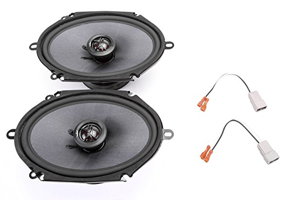 2004-2009 Mazda Mazda3 Front Door 6' x 8' 400 Watt Elite Replacement Upgrade Speakers by Skar Audio
