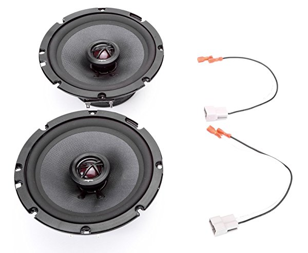 1999-1999 Pontiac Montana Mini Van Front Door 6.5' 200 Watt Elite Replacement Upgrade Speakers by Skar Audio