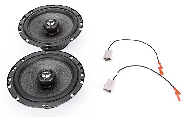 2002-2002 Suzuki Aerio Sedan Front Door 6.5' 200 Watt Replacement Upgrade Speakers by Skar Audio