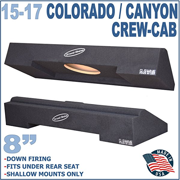 2015-2017 CHEVY COLORADO & GMC CANYON CREW-CAB SPEAKER BOX