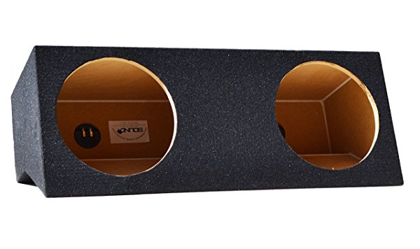 Ford Mustang Coupe Dual 10' Subwoofer Enclosure Sub Box 2005-2015, Constructed of Carp Compliant MDF! Don't Buy Cheaper Non Compliant MDF Enclosures