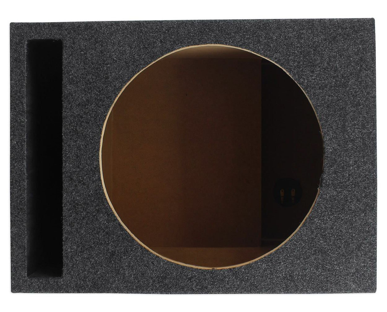 Rockville RSV12 Single 12 1.22 cu.ft. Vented Subwoofer Enclosure With Grade A 3/4' MDF, Made in America Using Only the Highest Quality Materials for the Best Performance and Sound From Your Subs