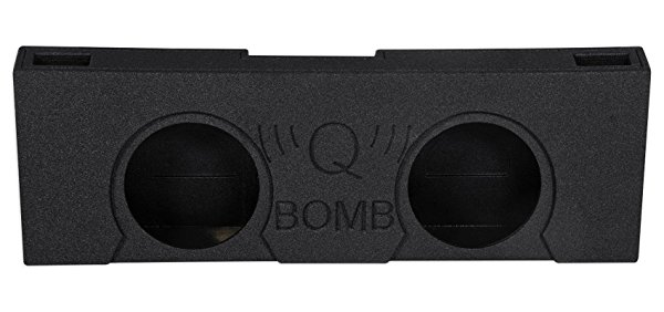 2007-2013 GMC/Chevy Crew Cab Dual 12' Vented Ported Subwoofer Sub Box Enclosure