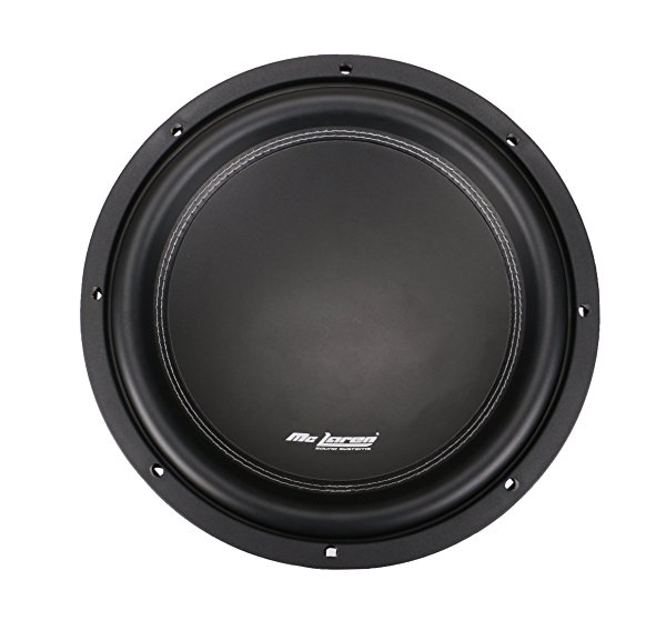 M4-12D4 12' Subwoofer 400 Wts RMS single 4 ohm Voice Coil