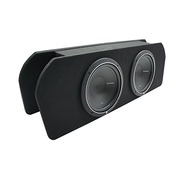 2015 - UP Ford Mustang Coupe Rockford Prime R1S412 Dual 12' Custom Sub Box 2 Ohm