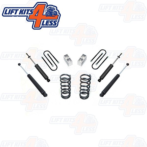 1982-2004 Chevy S-10 MaxTrac K330123 2/3' Lowering Kit