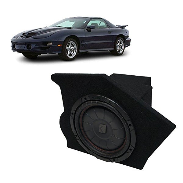 1993-2002 Pontiac Firebird Coupe Driver Side 10' Kicker CompVT CVT10 Sub Box Enclosure - Final 2 Ohm