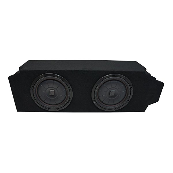 2005-2010 Scion TC Coupe Kicker CompVT CVT12 Subwoofer Dual 12' Sub Box Enclosure - Final 2 Ohm
