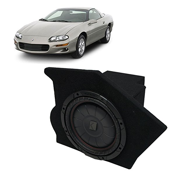 1993-2002 Chevy Camaro Coupe Driver Side 10' Kicker CompVT CVT10 Sub Box Enclosure - Final 2 Ohm