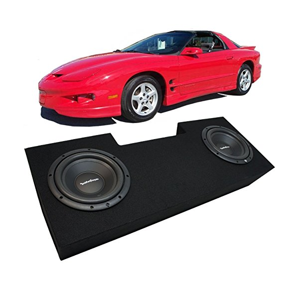 1982-1992 Pontiac Firebird Coupe Rockford Prime R1S412 Dual 12' Sub Box Enclosure Package - Final 2 Ohm