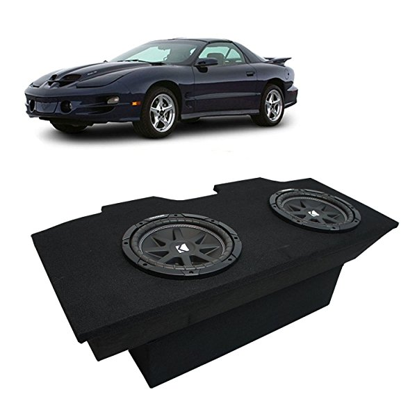 1993-2002 Pontiac Firebird Coupe Kicker Comp C12 Dual 12' Sub Box Enclosure Package - Final 2 Ohm