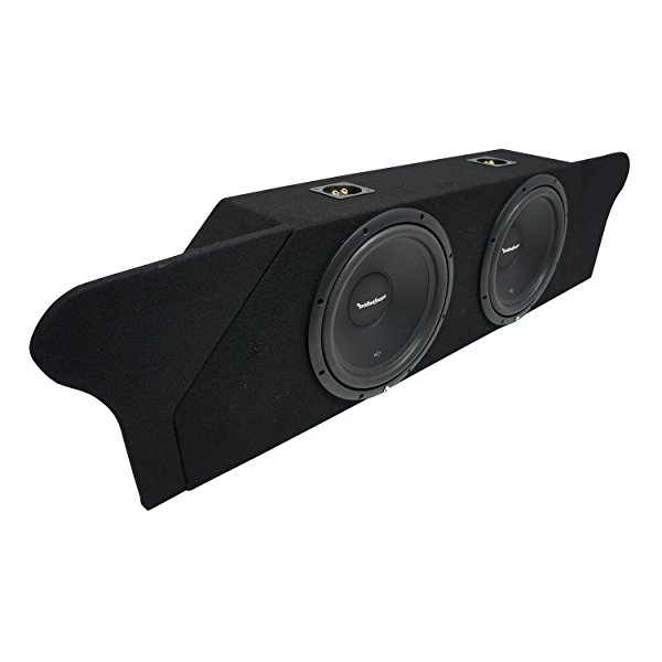 2012-2015 Chevy Camaro Coupe Trunk Rockford Prime R1S412 Dual 12' Sub Box Enclosure New - Final 2 Ohm