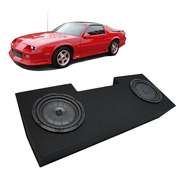 1982-1992 Chevy Camaro Coupe Kicker CompVT CVT12 Dual 12' Sub Box Enclosure Package - Final 2 Ohm