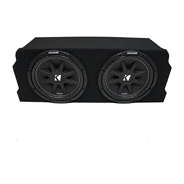 2004-2008 Mazda RX-8 Coupe Kicker Comp C10 Dual 10' Sub Box Enclosure Package - Final 2 Ohm