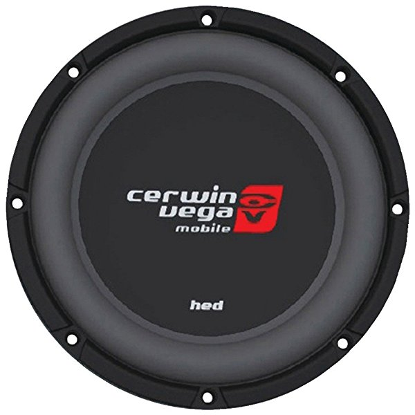 CERWIN-VEGA MOBILE HS124D HED DVC Shallow Subwoofer (12, 4ohm ) - ONE YEAR