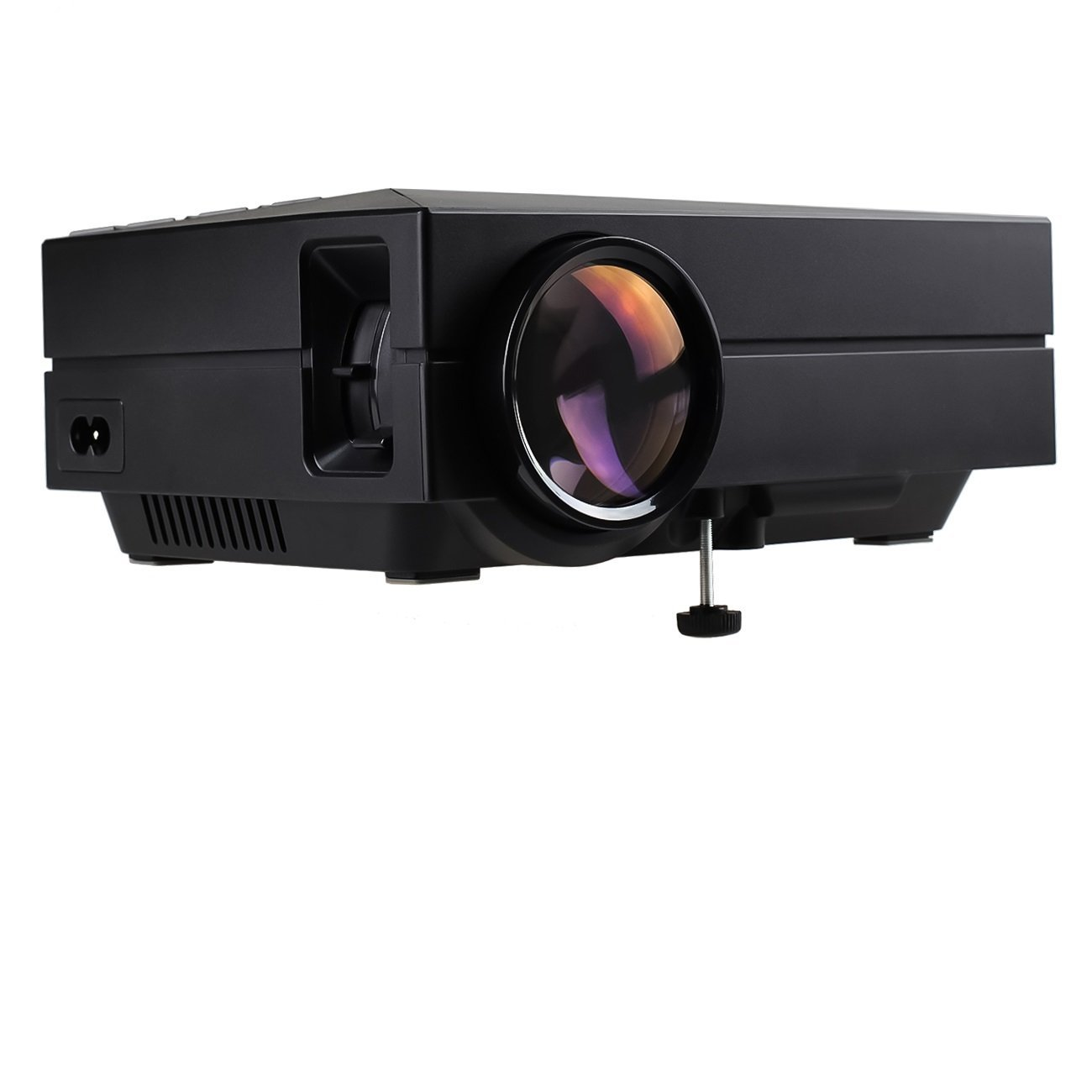 S1 LED LCD (WVGA) Mini Video Projector - International Version (No Warranty) - DIY Series - Black (FP8048S1-IV)