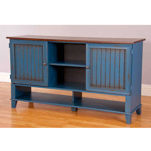 Martin Furniture Eagon Deluxe TV Stand For Flat Screen TVs up to 70