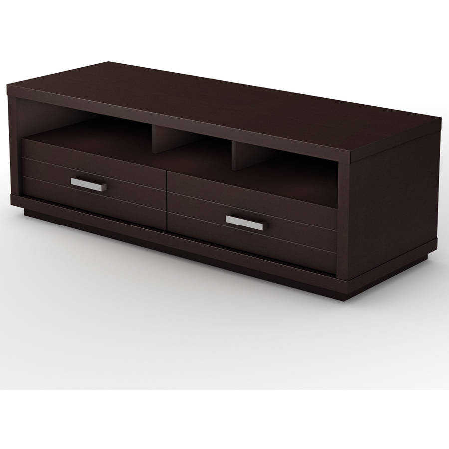 South Shore Skyline Chocolate TV Stand, for TVs up to 52'
