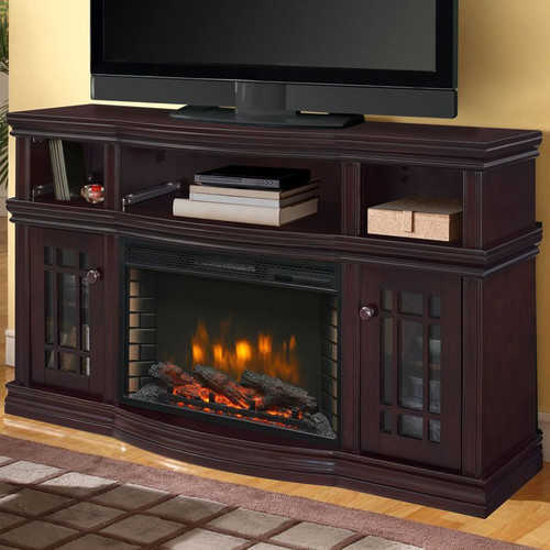 Muskoka Sutton Media 56'' TV Stand with Fireplace