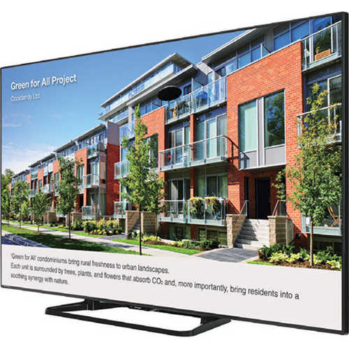 Sharp PN-LE801 80' Class Full HD Commercial LED TV